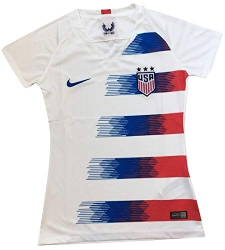 Women's USA National Team 2018-2019 Home Soccer Jersey White