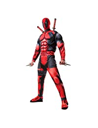 Marvel Deadpool Deluxe Adult Costume X-Small