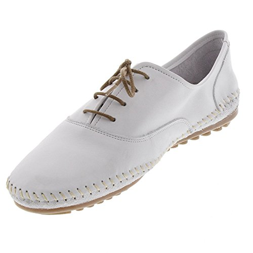 Shoes Scarpe Bianco Stringate Donna Luna Marc Derby vOaqZax