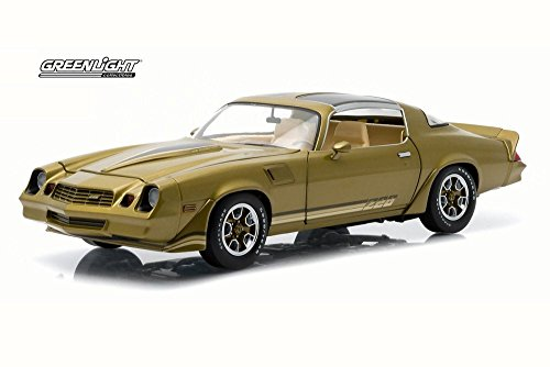Greenlight 1981 Chevy Camaro Z28 T-Top, Gold w/ Stripes, used for sale  Delivered anywhere in USA