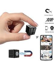Mini Kamera, Ehomful WLAN Überwachungskamera, Kindermädchen-Kamera mit Infrarot Nachtsicht und Bewegungserkennung, Innen/Aussen Wireless Kamera mit Micro SD Kartenslot und magnetische Stecker