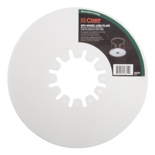 CURT 16721 10 In 5Th Wheel Lube Plate