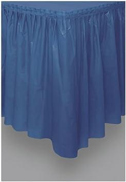 Unique Falda de Mesa de plástico Azul Marino: Amazon.es: Juguetes ...
