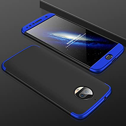 los angeles 24544 b9f50 BIGZOOK MOTO G5S Plus Back cover, MOTO G5S Plus Stylish Double Dip Back  Case, Double Dip Series New Luxury 360 Degree Protection back cover case  For ...
