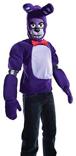 5 Nights At Freddy's Costume Bonnie (Rubie's Costume Boys Five Nights At Freddy's Bonnie The Rabbit Costume, Medium, Multicolor)