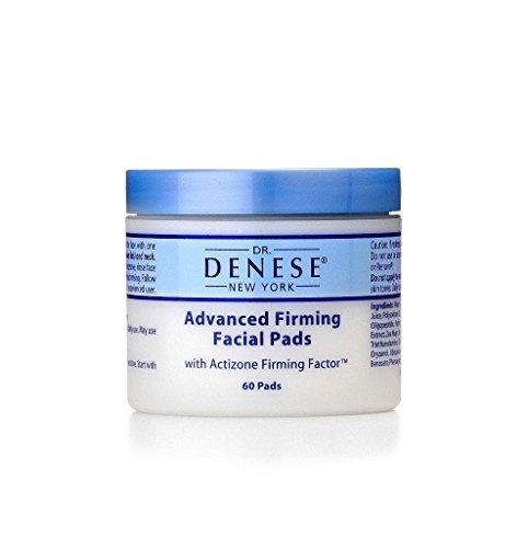 Dr. Denese Advanced Facial Firming Pads w/Actizone Firming Factor, 60 count - Dr Denese Firming Facial Pads