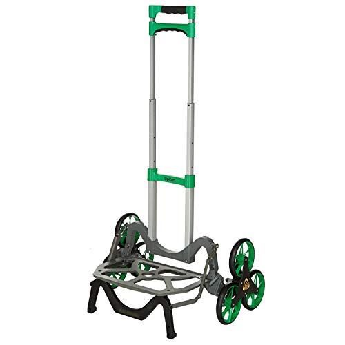 UpCart Original Green 100lb Capacity Stair Climbing Folding Hand Cart