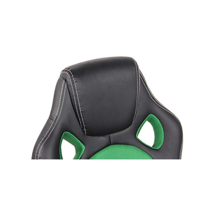 41gLMGudWWL CARACTERÍSTICAS: La silla Gaming Fire tiene un acolchado de alta calidad y mezcla el tapizado en cuero sintético y tela para ofrecer un plus de comodidad. La silla tiene un estilo deportivo, es regulable en altura, giratoria e incluye un mecanismo de balanceo para ofrecer más libertad de movimientos. POSTURA SALUDABLE: Con la silla gaming Fire se consigue mantener una postura cómoda durante largos periodos de tiempo, además, gracia a su diseño claro y sus definidas formas hacen que se adapte perfectamente a la postura de trabajo. Ofreciendo así el máximo confort. DIMENSIONES: La silla Gaming tiene las siguientes medidas: Altura total: 110 - 120 cm I Ancho total: 62 cm I Profundidad total: 66 cm I Altura del asiento: 49 - 59 cm I Profundidad del asiento: 50 cm I Altura del respaldo: 71 cm I Altura del resposabrazos des del suelo: 72 - 82 cm I Peso: 16 kg.