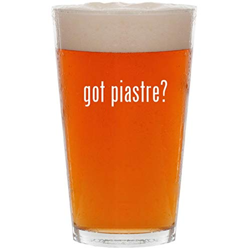 (got piastre? - 16oz All Purpose Pint Beer Glass)