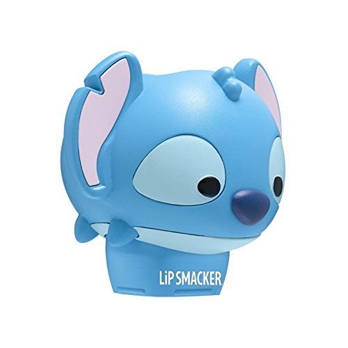 Lip Smacker Disney Tsum Tsum Balms, Stitch, Blueberry Wave Flavor (Best Thing For Chapped Lips Besides Chapstick)