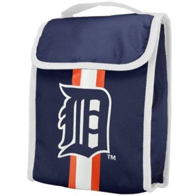 Lunch Tigers Box Detroit (FOCO Detroit Tigers Velcro Lunch Bag)
