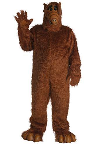 Plus Size Alf Costume 3X Brown]()