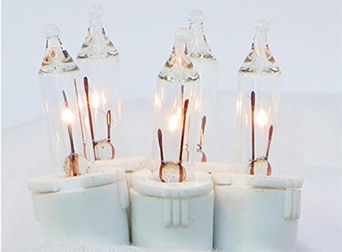 Gki Bethlehem Lighting Curtain - GKI Bethlehem Lighting 100 Count Clear Perm-O-Snap Mini Twinkle Christmas Light Set for Curtain with White Wire