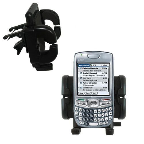 Gomadic Air Vent Clip Based Cradle Holder Car / Auto Mount suitable for the Palm Treo 680