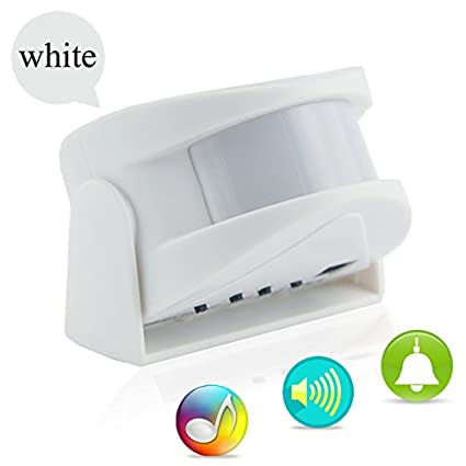 PremiumAV Wireless Door Bell Welcome Chime Alarm Music Switch Pir Motion  Sensor Shop Home Hotel Entry Security Doorbell Infrared Detector