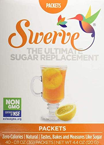 Sugar & Sweetener: Swerve Sweetener Packets