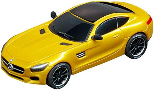 Carrera 20064119 Go Analogue Slot Car Racing Vehicle - Mercedes-Amg Gt CoupA Solar Beam - (1: 43 Scale), Yellow