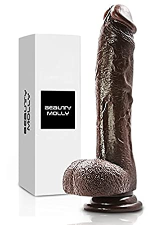 Beauty Molly Superior 8 Inch Realistic Dildo With Suction Cup anal sex toys, 11.8 Ounce