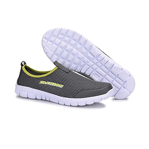and Sandals Shoes Drying dog bone Gray Casual Perfect Men's Waterproof Water Women's Match Aqua Dark Mesh Slip Quick Lightweight for on Dig qxFwZnw
