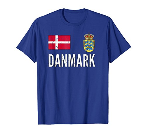 - Denmark Soccer Jersey Shirt Vintage