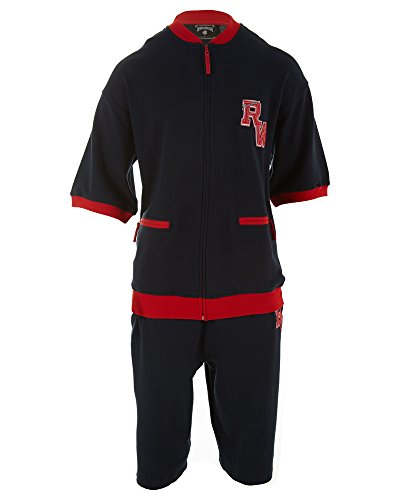 Roca Wear Sweat Suit Mens Style: S02200310-Navy Size: XL