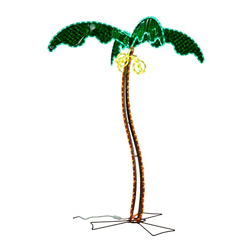 Ming's Mark Inc 8080121 Led Rope Light Palm Tree 5'