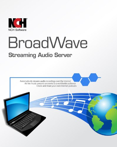 BroadWave Streaming Audio Server Software [Download] by NCH Software
