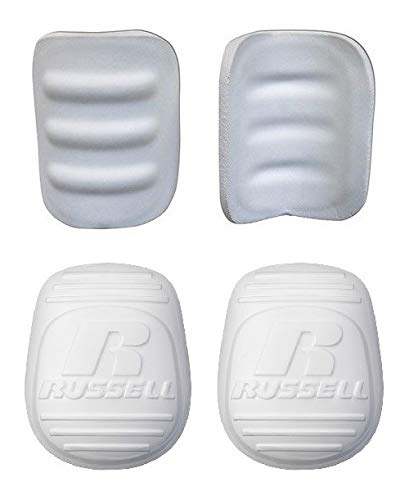 Adult Men/'s Football 4 Piece Set Martin Sports Thigh Pads /& Russell Knee Pads