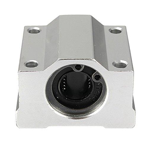 Chenxi Shop Sc16uu M/étal 16/mm lin/éaire Roulement /à billes de mouvement Palier pour CNC