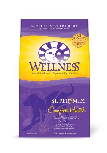 Wellness Super5Mix Dry Dog Food, Complete Health Chicken Recipe, 30-Pound, My Pet Supplies