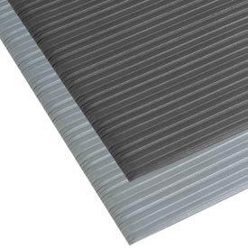 NoTrax T42 Standard PVC Safety/Anti-Fatigue Comfort Rest Ribbed Foam, For Dry Areas, 4' Width x 6' Length x 3/8