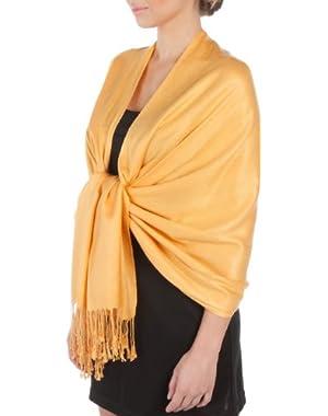 Silky Solid Soft Pashmina Shawl Wrap Stole