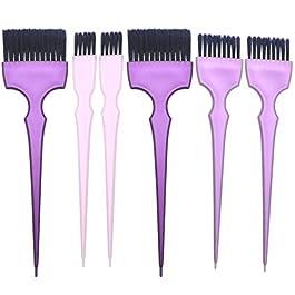 PIXNOR 2 Sets Hair Dye Coloring Kit Hair Dyeing Brush for DIY Salon Hair Coloring Bleaching Hair Dryers Hair Dye Tools