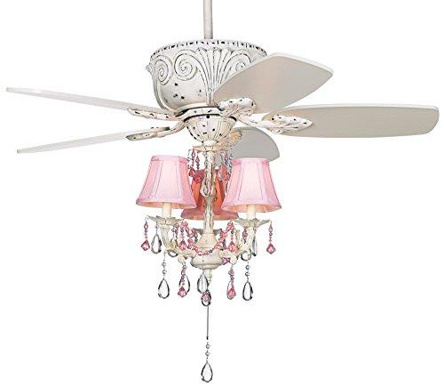 ceiling fan pink - 7