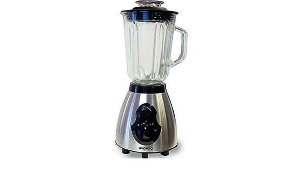 Daewoo DI-9053 - Batidora de vaso, 400 W, color plateado: Amazon.es: Hogar