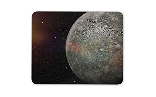 (Planet Mercury Mouse Mat Pad - Space Solar System NASA Cool Computer Gift #16242)