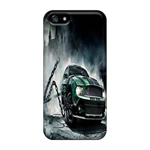 Awesome LastMemory Defender Tpu Hard Case Cover For Iphone 5/5s- Monster Mustang