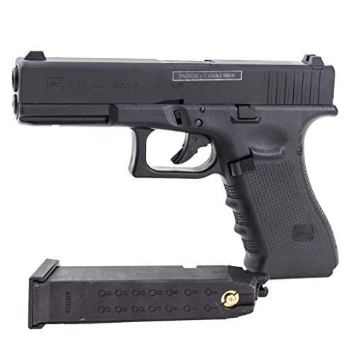Glock 17 Gen4 gaz Airsoft-Réplique à Billes-Semi-Automatique-Culasse métal -blowback-Puissance 0.5 Joule… 4