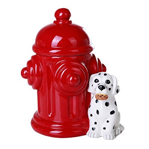 Pacific Giftware Firehouse Dalmatians and Fire Hydrant