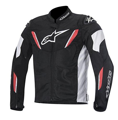 Alpinestars T-GP R Air Men's Street Motorcycle Jackets - Black/White/Red / Large
