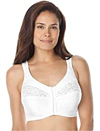 Women's Plus Size Easy Enhancer Front-Close Bra