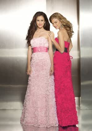 Amazon.com: Mori Lee by Madeline Gardner Prom Dress- Pink