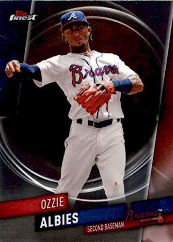 (2019 Finest Baseball #59 Ozzie Albies Atlanta Braves Official MLB Trading Card From Topps)