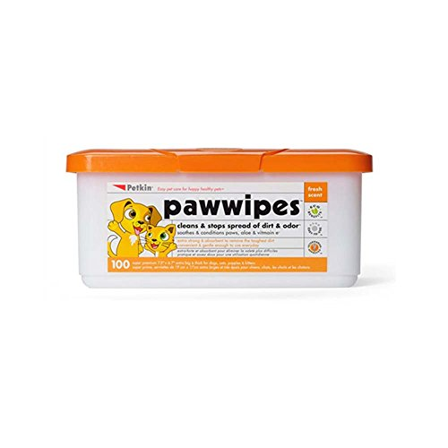 (Petkin Paw Wipes 100 count )