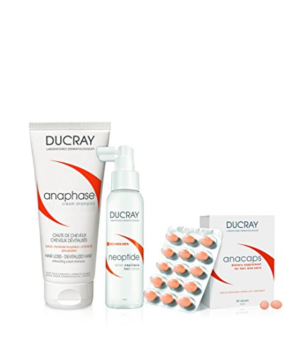 Ducray Healthy Hair System for Men, 5 fl. oz. by Ducray