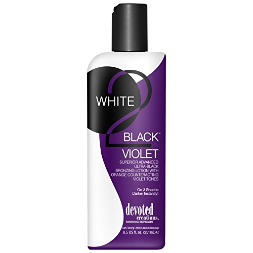 Devoted Creations WHITE 2 BLACK VIOLET Black Bronzer - 8.5 oz.