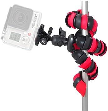 Tripod Mount HERO3+ HERO5 Cameras 72 Pro Camera Monopod with Quick Release for GoPro HERO1 HERO3 HERO4 HERO2 eCostConnection Microfiber Cloth HERO4 Session
