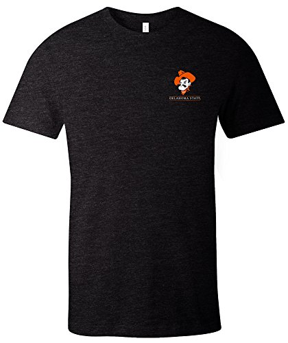 NCAA Oklahoma State Cowboys Adult NCAA Simple Mascot Short sleeve Triblend ()