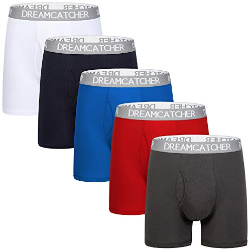 5Mayi Mens Underwear Boxer Briefs for Men Underwear Men Pack-5 L
