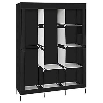 Sanhezhong 71 Closet Organizer Wardrobe Closet Portable Closet Shelves Closet Storage Organizer With Non Woven Fabric Quick And Easy To Assemble